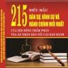215 Biểu Mẫu Dân Sự, Hình Sự Và Hành Chính