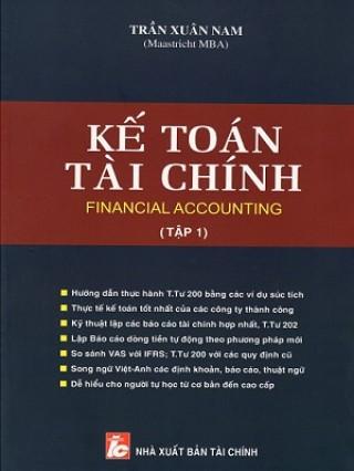 Kế toán tài chính song ngữ việt anh tác giả Trần xuân nam