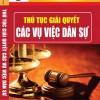 Sách Thủ tục giải quyết các vụ việc dân sự
